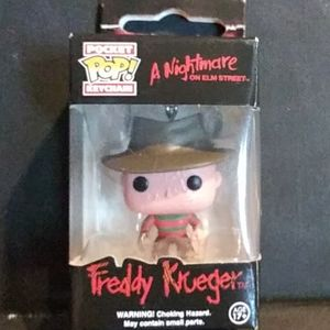 Freddy Krueger pocket pop keychain
